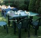 Столове FAVO зелен