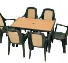 Стололве TESORO + маса ANCORA